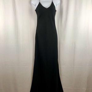 Zum Zum spaghetti strap black maxi dress 5/6